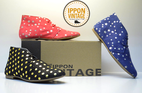 chaussures ippon vintage