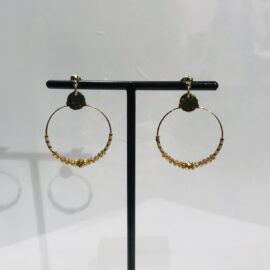 Boucles d'oreilles - BY GARANCE - BO Mina Orange